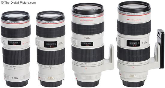 Canon-70-200mm-L-Lens-Size-Comparison