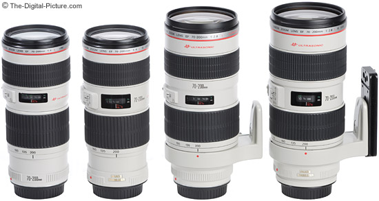 Canon-70-200mm-L-Lens-Size-Comparison